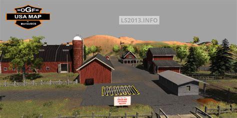 ogf usa map ogf usa map v 2 0 ls 2013 mods