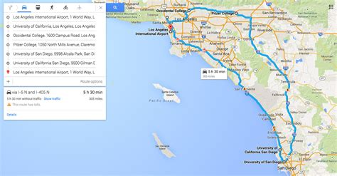 map of southern california colleges and universities map of colleges and universities in southern california
