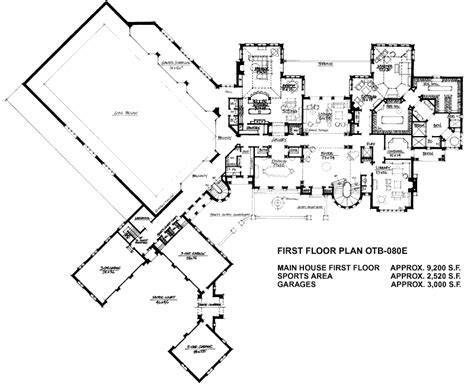 house plans for mansions floorplans homes of the rich