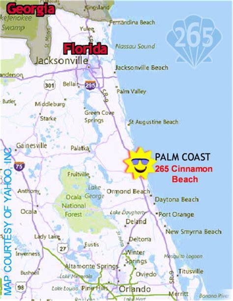 map of palm coast florida directions to palm coast florida