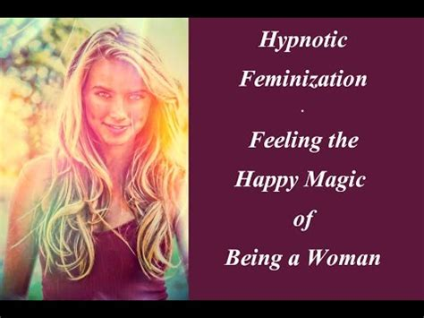 accepting my inner woman subliminal hypno conscience feminization hypnosis funnycat tv