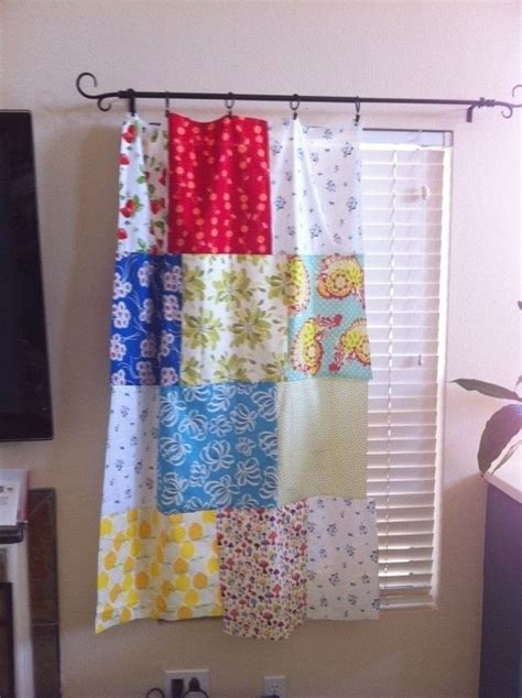 Patchwork Curtain - patchwork curtains 183 a curtain blinds 183 patchwork