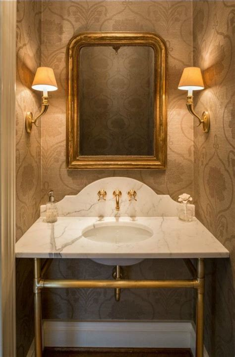 beautiful powder rooms  connecticut  style