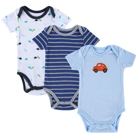 baby boy clothes new 3pcs baby boy rompers baby clothing set summer cotton