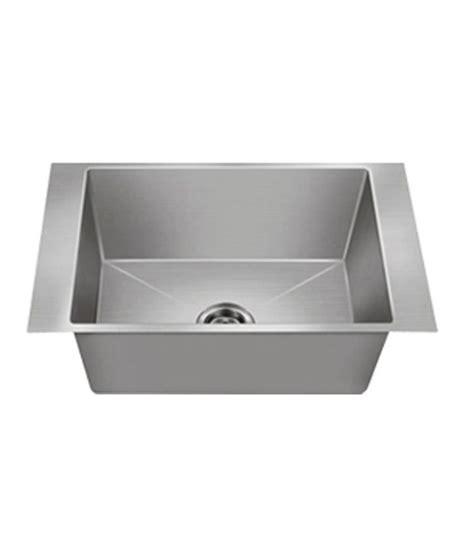 Nirali Kitchen Sinks Buy Nirali Kitchen Sink Single Bowl Maxus Small Satin At Low Price In India Snapdeal
