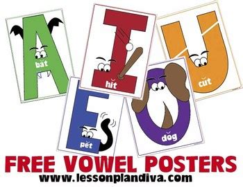 printable vowels poster free short vowel posters firstgradefaculty com