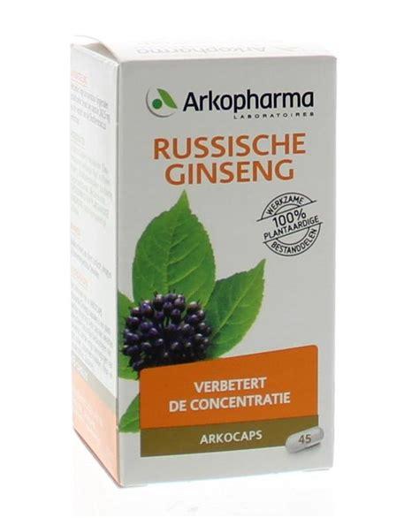 Ginseng Per Ons arkocaps russische ginseng