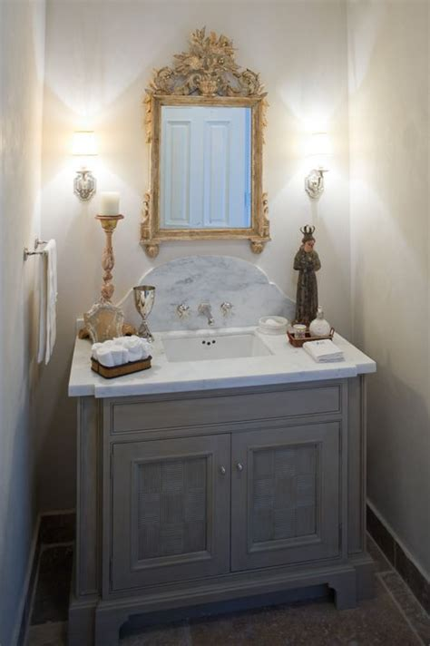 powder room backsplash ideas like square sink marble top curved backsplash sconces