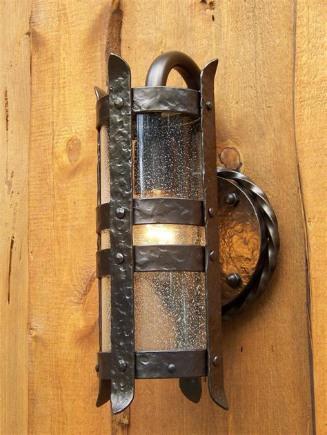 Rustic Lantern Wall Sconce Rustic Sconces Vanity Lights Western Ls Lantern Wall Sconces Oregonuforeview