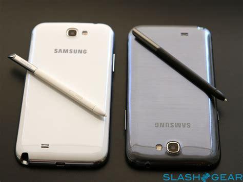 Tablet Samsung Note 2 samsung galaxy note ii vs 10 1 tablet slashgear