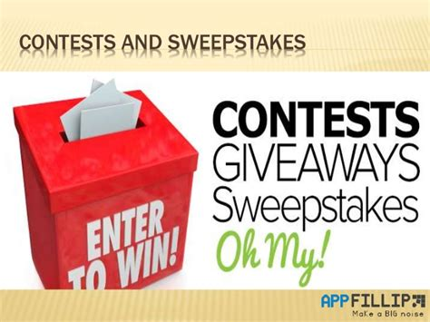 Online Sweepstakes And Contests - sweepstakes online sweepstakes sweepstakes and contests html autos weblog