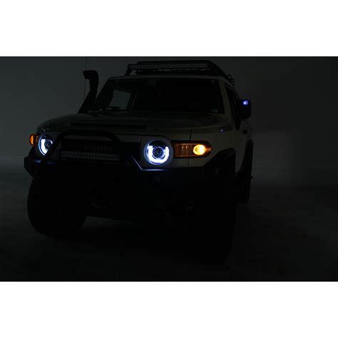 fj cruiser warning lights hid xenon 07 13 toyota fj cruiser 3d drl led tube