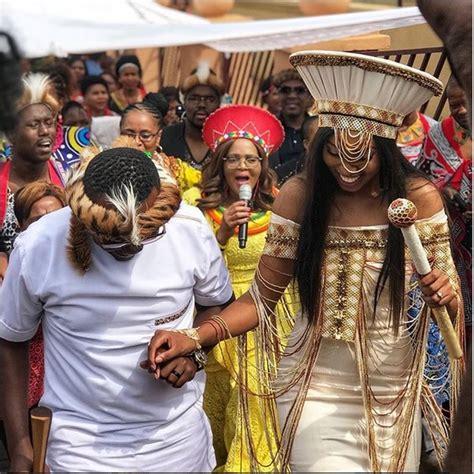 in the on the move khaya mthethwa and ntando kunene s traditional wedding