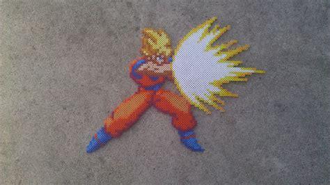 Goku Bead Sprite By Everydayimspriting On Deviantart