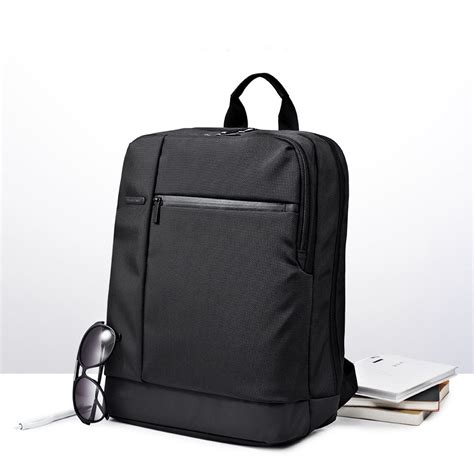 Xiaomi Backpack Preppy Style Hitam 1 xiaomi classic business style laptop backpack 17l