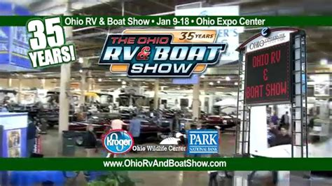 boat shows in ohio 2015 ohio rv and boat show youtube
