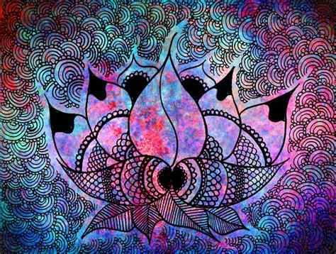 wallpaper batik tumblr lotus batik ink pinterest lotus psychedelic and