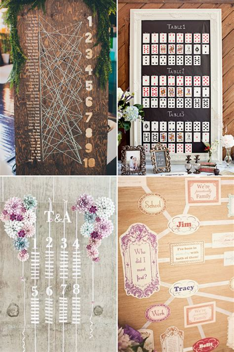 25  Wedding Seating Chart Ideas Your Guests Will Love