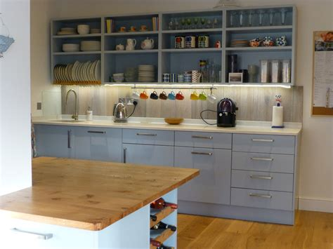 blue grey painted kitchen by peter henderson furniture grey and pippy oak bespoke kitchen by peter henderson