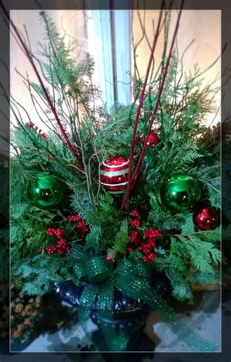 images of outdoor christmas urns 17 best images about christmas urns on pinterest