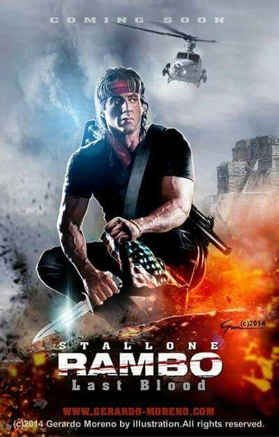 rambo  blood  tv shows    posters movies film
