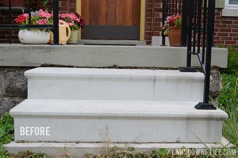 curb appeal painting concrete porch stairs lansdowne
