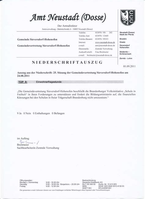 Musterbrief Bestellung Musterbrief Freie Schulen Schreiben An Kommunalpolitiker Vorsicht Gestrichen