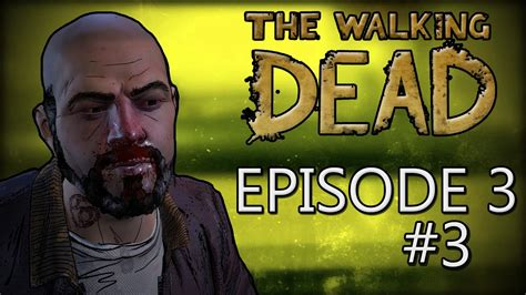 the walking egghead a goodbye egghead the walking dead a new frontier ep 3 quot above the law quot part 3 youtube