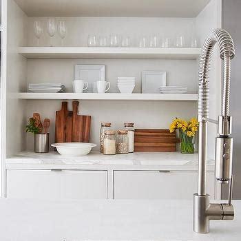 kitchen alcove ideas built in alcove shelves design ideas
