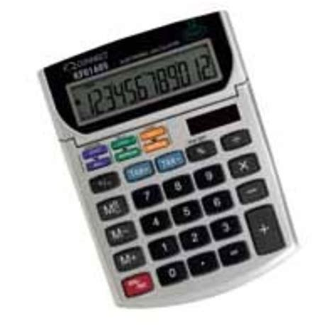 Calculator Joyko 12 Digits Standard Desktop Calculator q connect 12 digit desktop calculator ebuyer