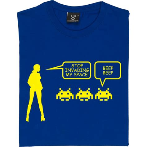Design My Space stop invading my space t shirt from redmolotov com