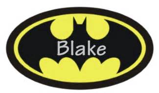 Customizable Wall Stickers 8 best images of logo for batman party favors free