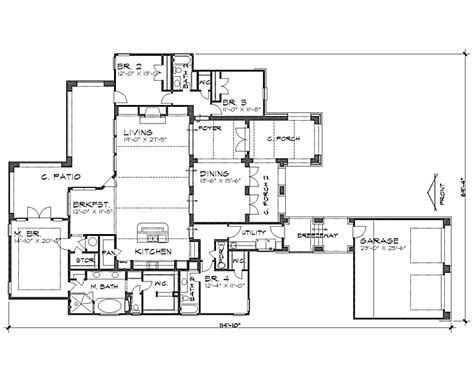 plans elevations sections and details of the alhambra the alhambra 4242 4 bedrooms and 3 baths the house