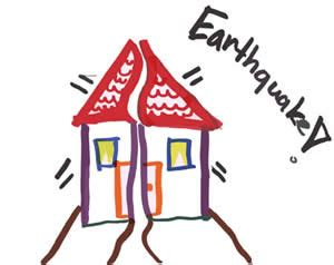 earthquake for kids earthquake drawing for kids www pixshark com images