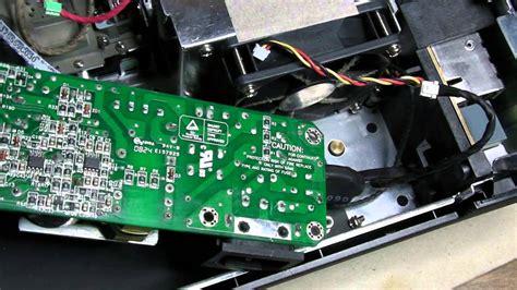 Proyektor Acer X1160 acer x1160 dlp beamer teardown zerlegung part 1 of 2