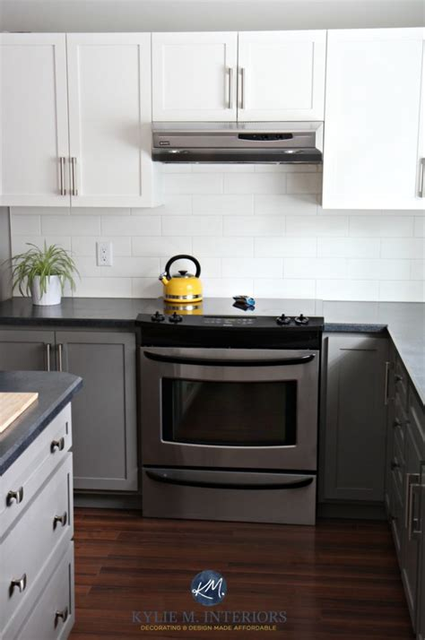 A Budget Friendly Kitchen Update ? White, Gray and Gorgeous!