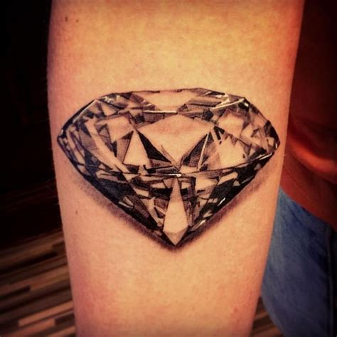dimond tattoo realistic black i tattoos