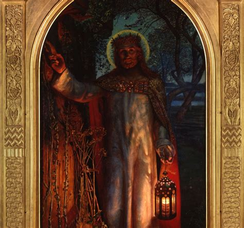 william holman hunt the light of the in god we trust seeker of