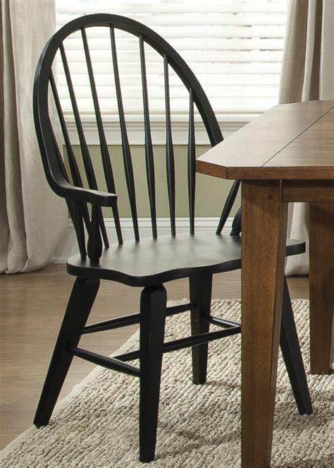hearthstone black windsor  arm chair  liberty  ca coleman furniture