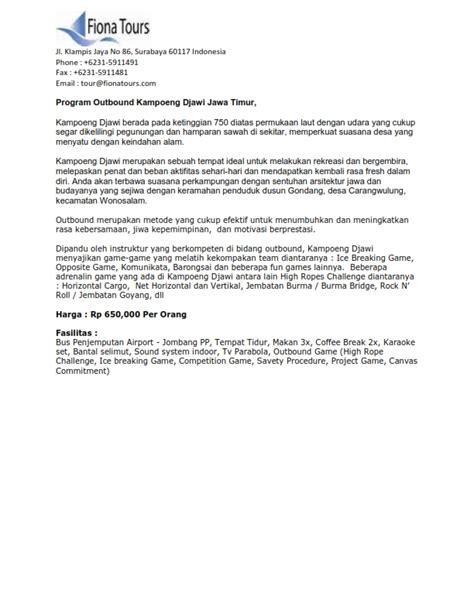 Contoh Singkat Surat Penawaran by Surat Penawaran Kerjasama Contoh Surat Pernyataan