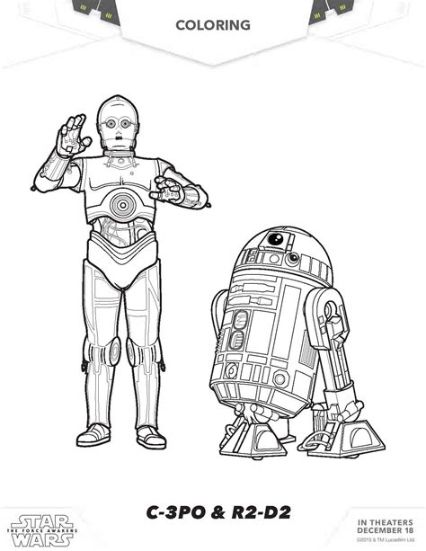 c3po coloring pages