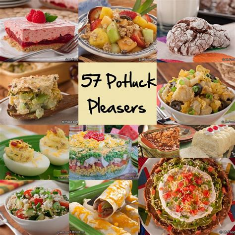 easy potluck recipes 58 party pleasers offices potluck