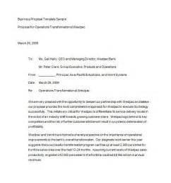 Template For A Business by 30 Business Templates Letter Sles