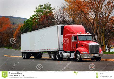 Semi L by Haul Semi Stock Photo Image 52160055