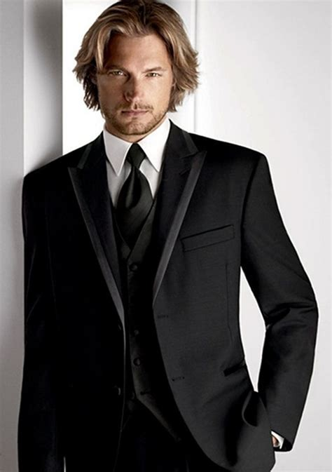Best 25  Black tux ideas on Pinterest   Black tuxedo