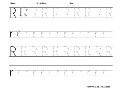 printable tracing letter r free tracing letter r worksheet