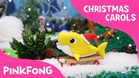 newest kid fish for christmas shark clay sharks carols baby shark pinkfong songs for children