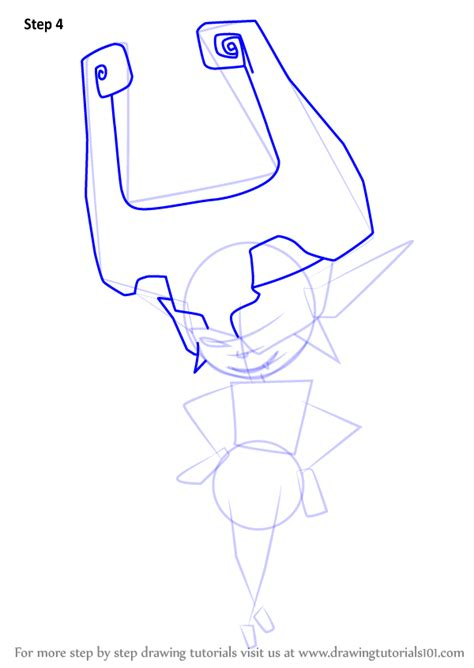 How To Draw Midna Easy