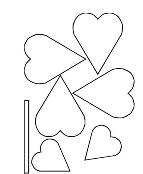 paper cut out templates flowers best photos of flower templates to color flower
