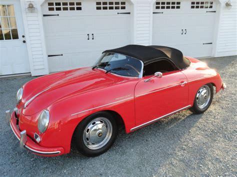 1955 Porsche 356 For Sale 1955 Porsche 356 Speedster By Intermeccanica For Sale